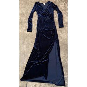 Charlotte Russe Velvet Maxi Dress
